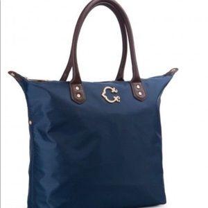 C Wonder Navy tote bag
